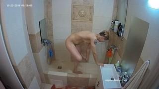 Nastya morning shower oct 22