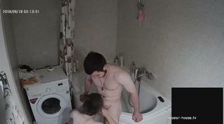Dana chris late bj fuck shower aug 18
