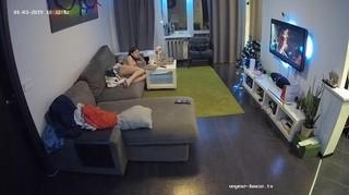 Juliet watching tv jan 3