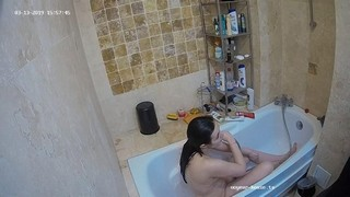 Anni afternoon bath mar 13