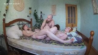 Red romina herman morning 3some jan 26