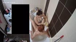 Grace & friend bath fun jul 10