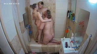 Nastya guest couple shower 3some aug 21