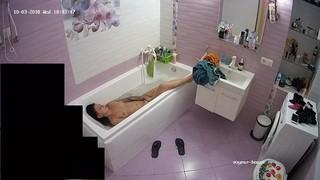 Alice afternoon bath oct 3