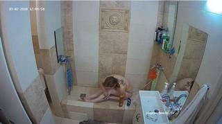 Red noon shower & shave sept 3
