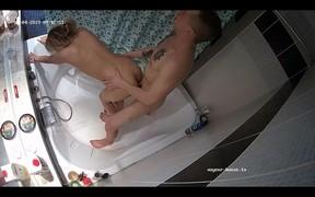 Billy and Samanta bath fuck and swallow,Mar 4