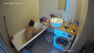 Ana afternoon bathe & shave jul 30