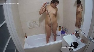 Anjelica's friend evening shower & shave feb 11