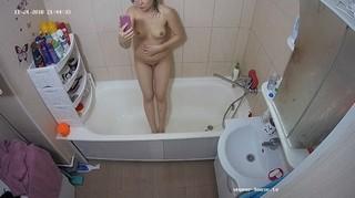 Courtney evening shower nov 24