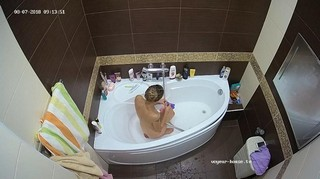 Morning bath aug 7