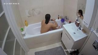 Anjelica's friend late bath jan 14