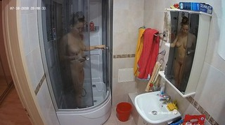 Amy evening shower & shave jul 18
