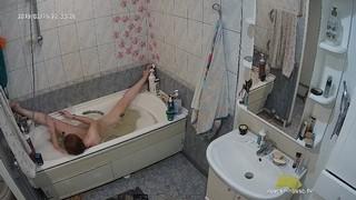 Romina evening bathe & shave feb 15