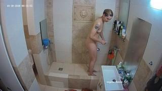 Nastya morning shower oct 18