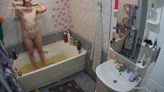 Romina noon bathe & shave jan 4