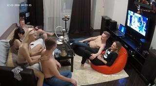 Melissa sergio & friends sexy party dec 23