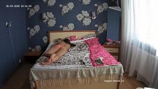 Darcie takes a nap jun 4