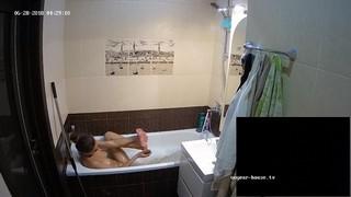 Clair late bathe & shave jun 28