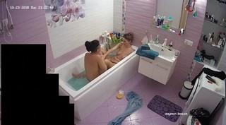 Alice & friend long evening bath oct 23