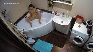 Darcie evening bath jul 31