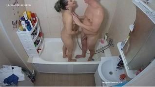 Heather & friend late shower after sex nov 16