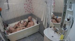 Red herman afternoon bath feb 23