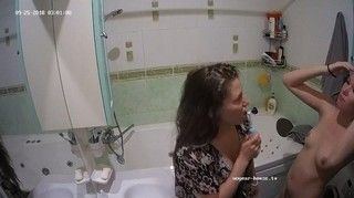 Courtney heather brush their teeth sept 25