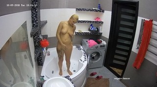 Blond guest afternoon shower oct 9