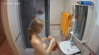 Amy quickie shower jul 15