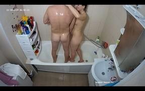 Heather & friend sexy shower,Nov 10
