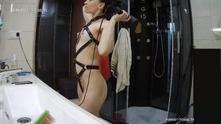 Clara hairdry & sexy dressup may 31
